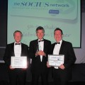 Evans Vanodine win SOCIUS Supplier of the Year Award